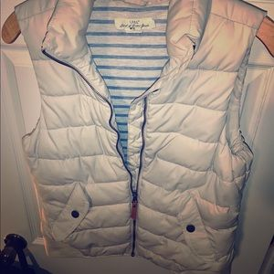 Women's puffer vest from H&M.